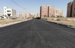 تکمیل معابر فرعی خیابان زاگرس در پردیسان