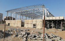 پیشرفت ۴۰ درصدی ساخت ورزشگاه در مسکن مهر پردیسان