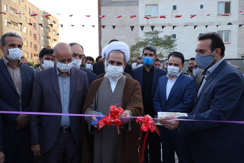 بوستان عترت پردیسان با حضور مدیر حوزههای علمیه سراسر کشور افتتاح شد